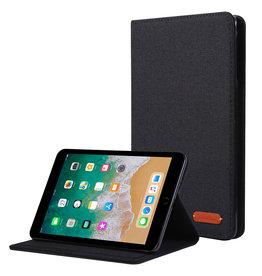 Case2go iPad Mini 4/5 (2019) hoes - Book Case met Soft TPU houder - Zwart