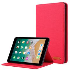 iPad Mini 4/5 (2019) hoes - Book Case met Soft TPU houder - Rood