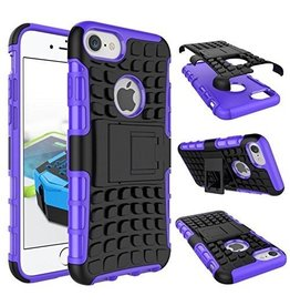 Case2go iPhone 7 / iPhone 8 Schokbestendige Back Cover Paars