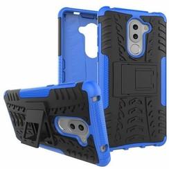 Honor 6X Schokbestendige Back Cover Blauw
