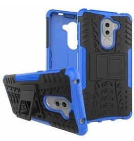 Case2go Honor 6X Schokbestendige Back Cover Blauw