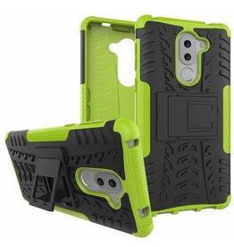 Case2go Honor 6X Schokbestendige Back Cover Groen