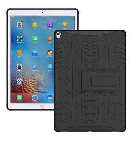 Case2go iPad 9.7 - Schokbestendige Back Cover - Zwart