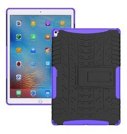 Case2go iPad 9.7 - Schokbestendige Back Cover - Paars