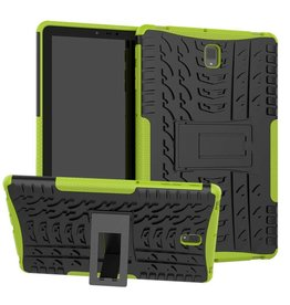 Case2go Samsung Galaxy Tab S4 10.5 Schokbestendige Back Cover - Groen