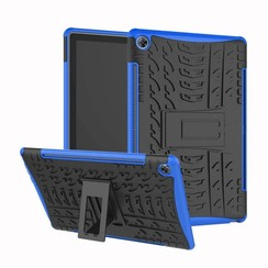 Huawei Mediapad M5 10.8 - Schokbestendige Back Cover - Blauw