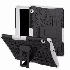 Huawei Mediapad T3 10 - Schokbestendige Back Cover - Wit