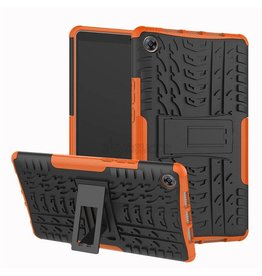 Case2go Apple iPad Pro 11 - Schokbestendige Back Cover - Oranje