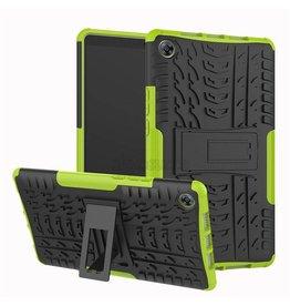 Case2go Apple iPad Pro 11 - Schokbestendige Back Cover - Groen