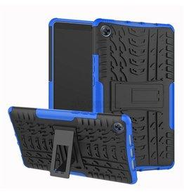 Case2go Apple iPad Pro 11 - Schokbestendige Back Cover - Blauw