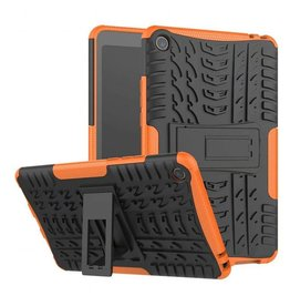 Case2go Xiaomi Mi Pad 4 - Schokbestendige Back Cover - Oranje
