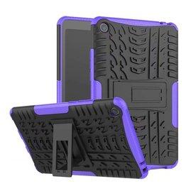Case2go Xiaomi Mi Pad 4 - Schokbestendige Back Cover - Paars