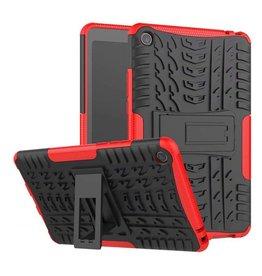 Case2go Xiaomi Mi Pad 4 - Schokbestendige Back Cover - Rood