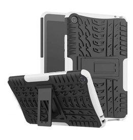 Case2go Xiaomi Mi Pad 4 - Schokbestendige Back Cover - Wit