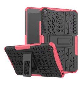 Case2go Xiaomi Mi Pad 4 - Schokbestendige Back Cover - Magenta