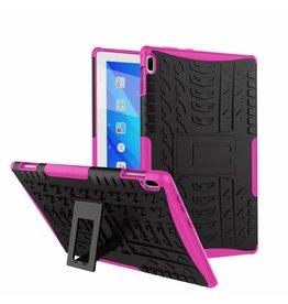 Case2go Lenovo Tab 4 10 - Schokbestendige Back Cover  - Magenta