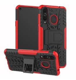 Case2go Samsung Galaxy A40 hoes - Schokbestendige Back Cover - Rood