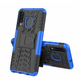 Case2go Samsung Galaxy A50 hoes - Schokbestendige Back Cover - Blauw