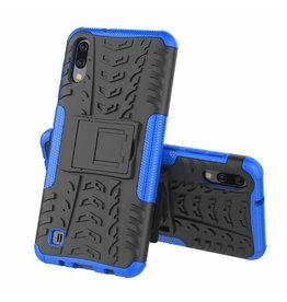 Case2go Samsung Galaxy M10 hoes - Schokbestendige Back Cover - Blauw
