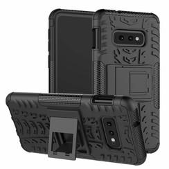 Samsung Galaxy S10e hoes - Schokbestendige Back Cover - Zwart