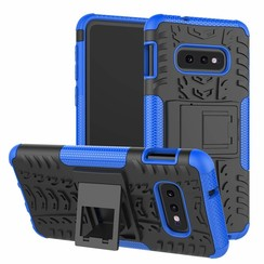 Samsung Galaxy S10e hoes - Schokbestendige Back Cover - Blauw