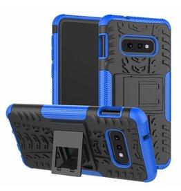 Case2go Samsung Galaxy S10e hoes - Schokbestendige Back Cover - Blauw