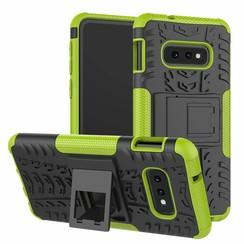 Samsung Galaxy S10e hoes - Schokbestendige Back Cover - Groen