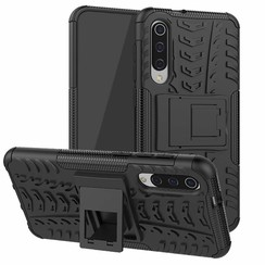 Xiaomi Mi 9 SE hoesje - Schokbestendige Back Cover - Zwart