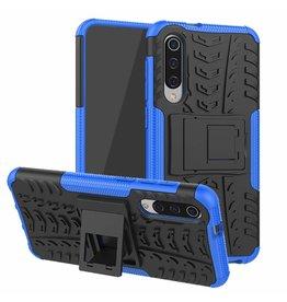 Case2go Xiaomi Mi 9 SE hoesje - Schokbestendige Back Cover - Blauw