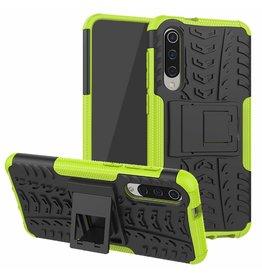 Case2go Xiaomi Mi 9 SE hoesje - Schokbestendige Back Cover - Groen