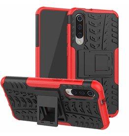 Case2go Xiaomi Mi 9 SE hoesje - Schokbestendige Back Cover - Rood