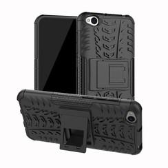 Xiaomi Redmi Go hoesje - Schokbestendige Back Cover - Zwart