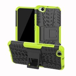 Xiaomi Redmi Go hoesje - Schokbestendige Back Cover - Groen