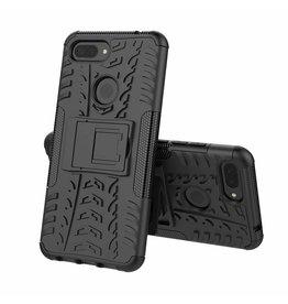 Case2go Xiaomi 8 lite hoesje - Schokbestendige Back Cover - Zwart