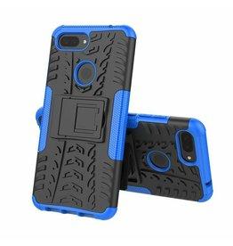 Case2go Xiaomi 8 lite hoesje - Schokbestendige Back Cover - Blauw