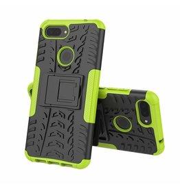 Case2go Xiaomi 8 lite hoesje - Schokbestendige Back Cover - Groen