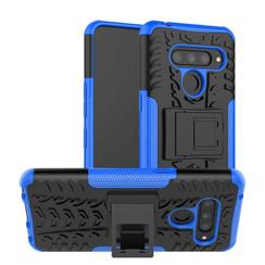 LG V50 ThinQ hoesje - Schokbestendige Back Cover - Blauw