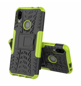 Case2go Xiaomi Redmi 7 hoesje - Schokbestendige Back Cover - Groen