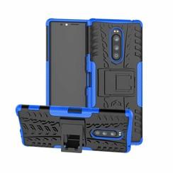 Sony Xperia 1 hoesje - Schokbestendige Back Cover - Blauw