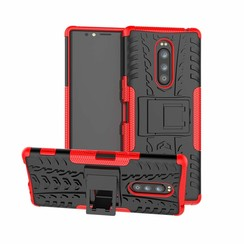 Sony Xperia 1 hoesje - Schokbestendige Back Cover - Rood