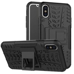 iPhone XR hoes - Schokbestendige Back Cover - Zwart