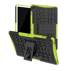 Samsung Galaxy Tab S5e hoes - Schokbestendige Back Cover - Groen