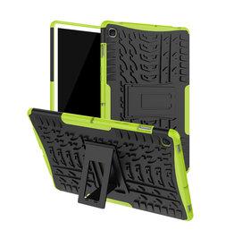 Case2go Samsung Galaxy Tab S5e hoes - Schokbestendige Back Cover - Groen