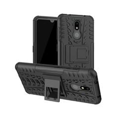 Nokia 3.2 hoes - Schokbestendige Back Cover - Zwart