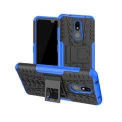 Nokia 3.2 hoes - Schokbestendige Back Cover - Blauw