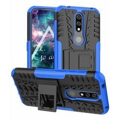 Nokia 4.2 hoes - Schokbestendige Back Cover - Blauw