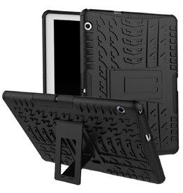 Case2go Huawei Mediapad M5 Lite 10 hoes - Schokbestendige Back Cover - Zwart