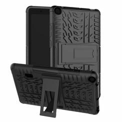 Huawei Mediapad T3 7 hoes - Schokbestendige Back Cover - Zwart