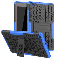 Samsung Galaxy Tab A8 (2019) hoes - Schokbestendige Back Cover - Blauw