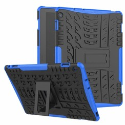 Huawei Matepad Pro 10.8 inch hoes - Schokbestendige Back Cover - Blauw